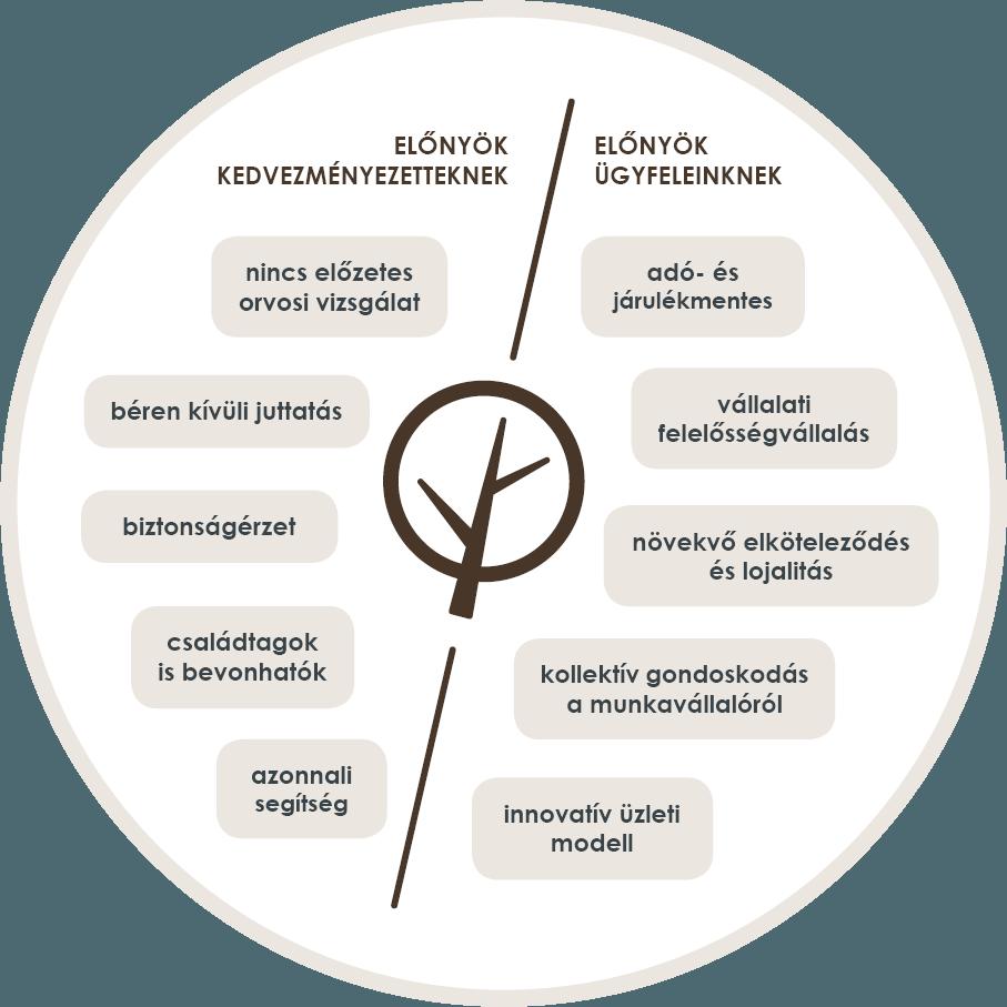 előnyök kedvezményezetteknek előnyök ügyfeleinknek